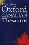 Paperback Oxford Canadian Thesaurus